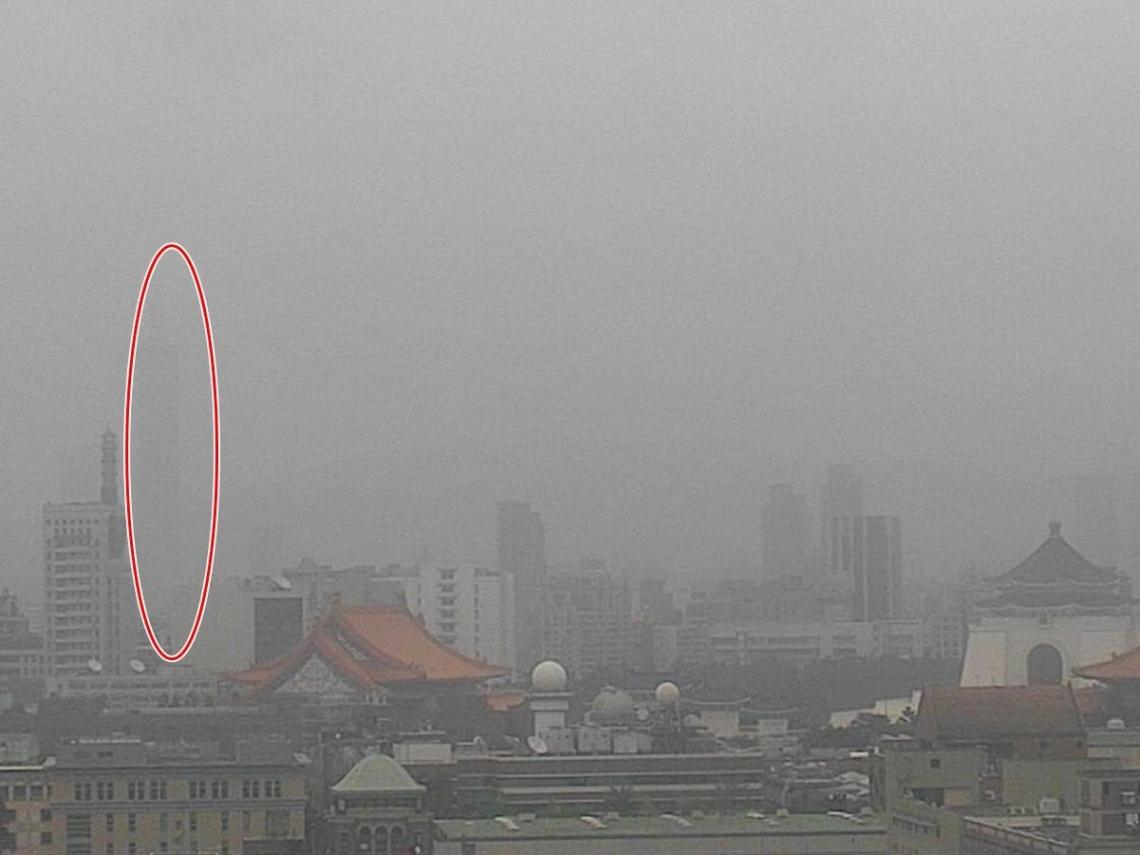 台北101都快看不見了!沙塵暴今襲台空氣糟 「這些人」應避免出門