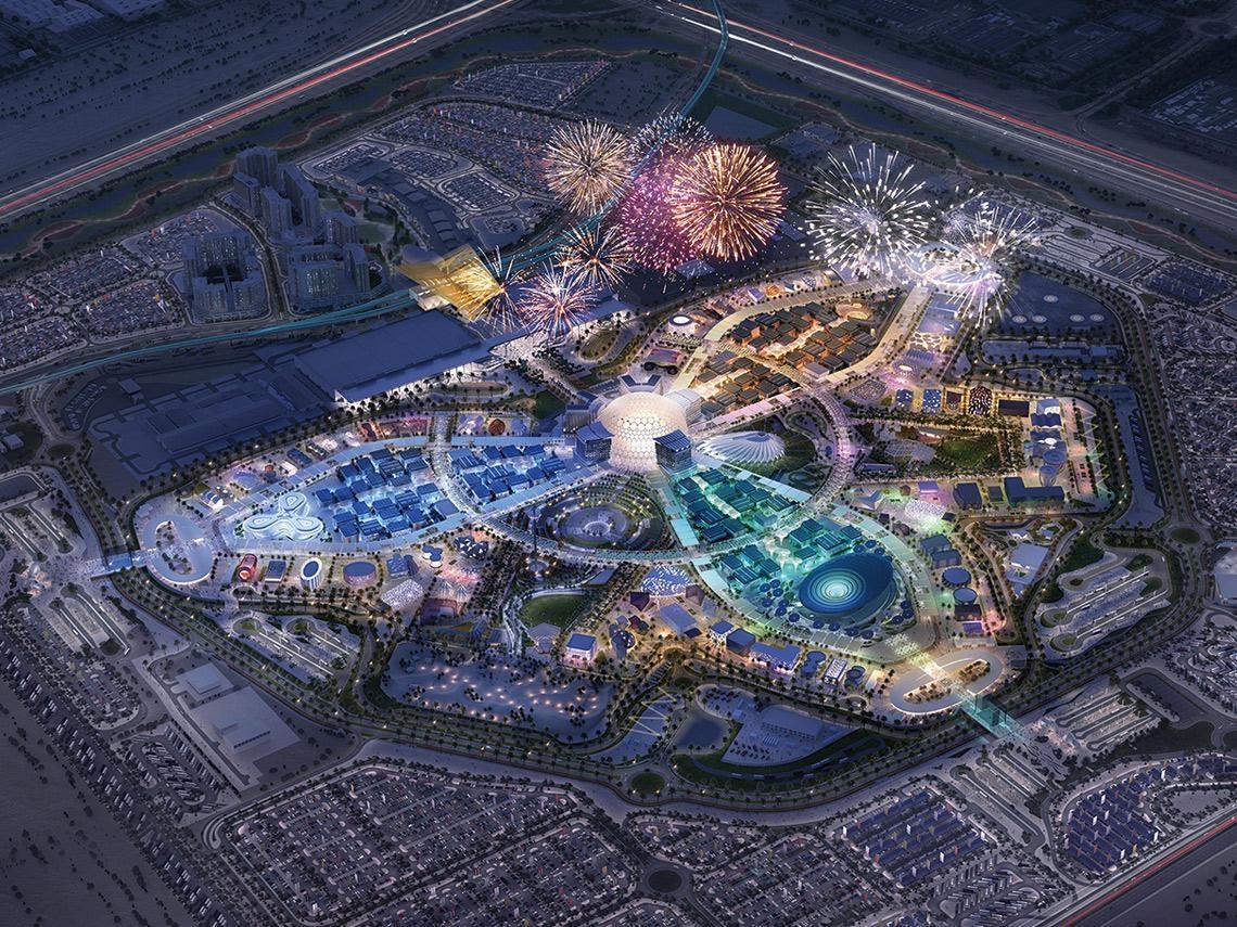 西門子如何在沙漠中 打造最超現實的智慧展覽場?