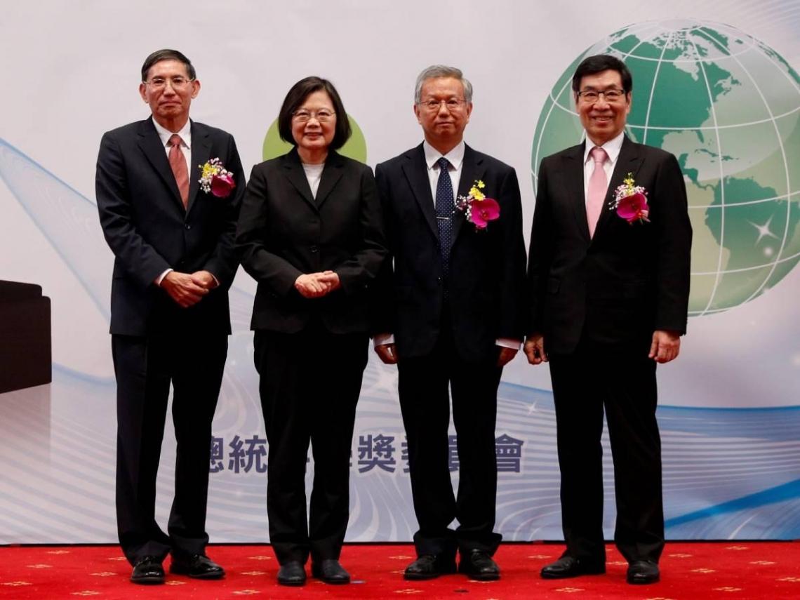 2019 年總統科學獎,李遠鵬、陳垣崇、魏福全三院士獲殊榮