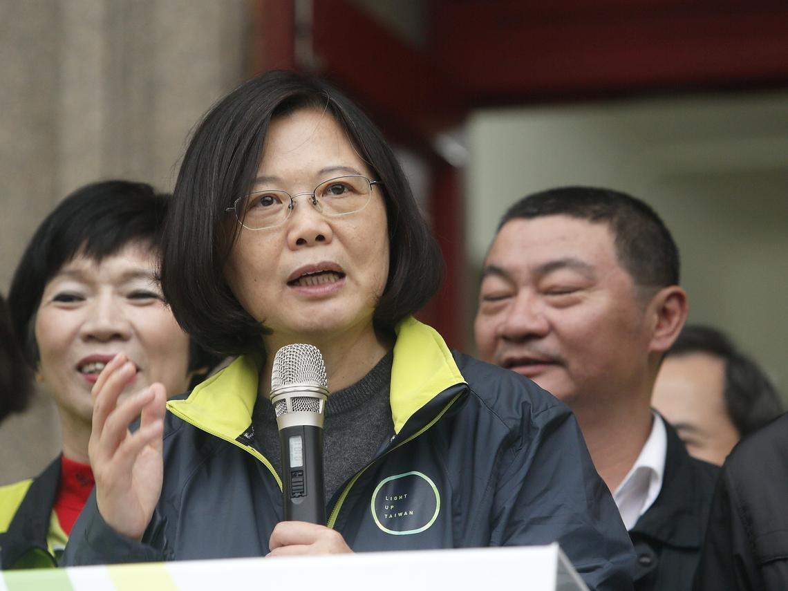 蔡英文於國慶演說呼籲: 對抗中國威嚇,台灣必須團結