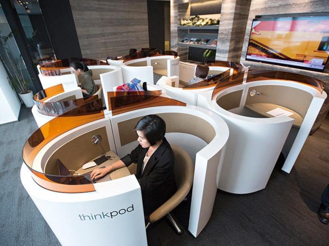 共享辦公室激活新需求 企業把這當部門營運測試場
