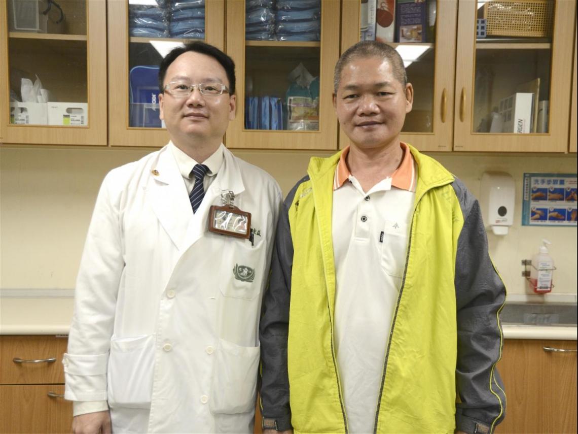接受精準性放療,五旬男順利抗肝癌 「把身體養好,就是對父母的孝順」