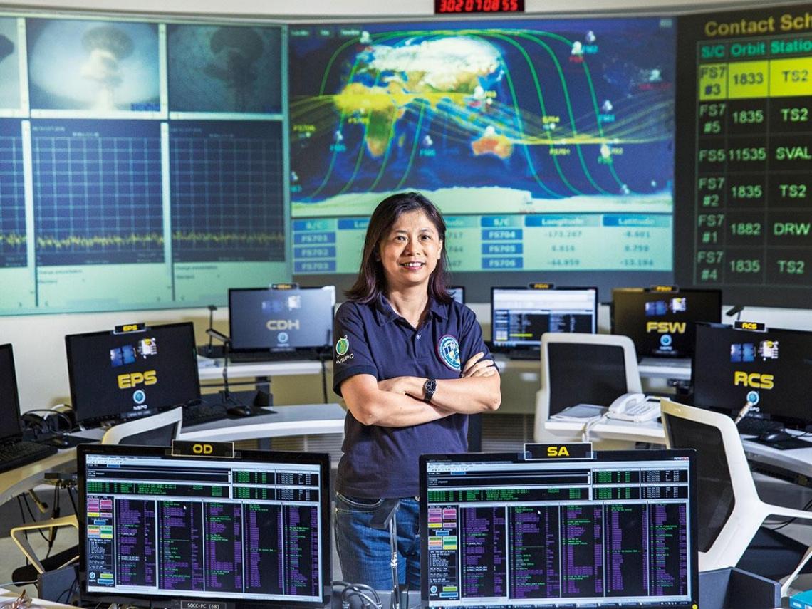 台灣衛星工程師 打造精準太空溫度計