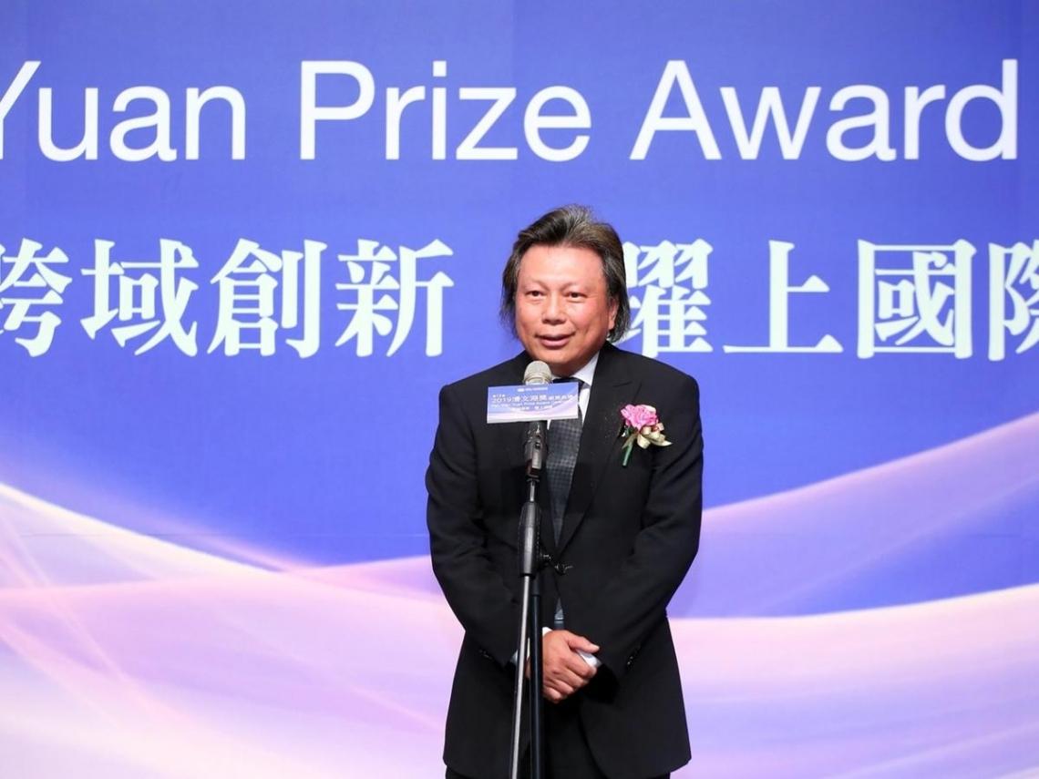 助攻台灣半導體奇蹟 漢民董事長黃民奇獲頒潘文淵獎 他的「四字」成功心法