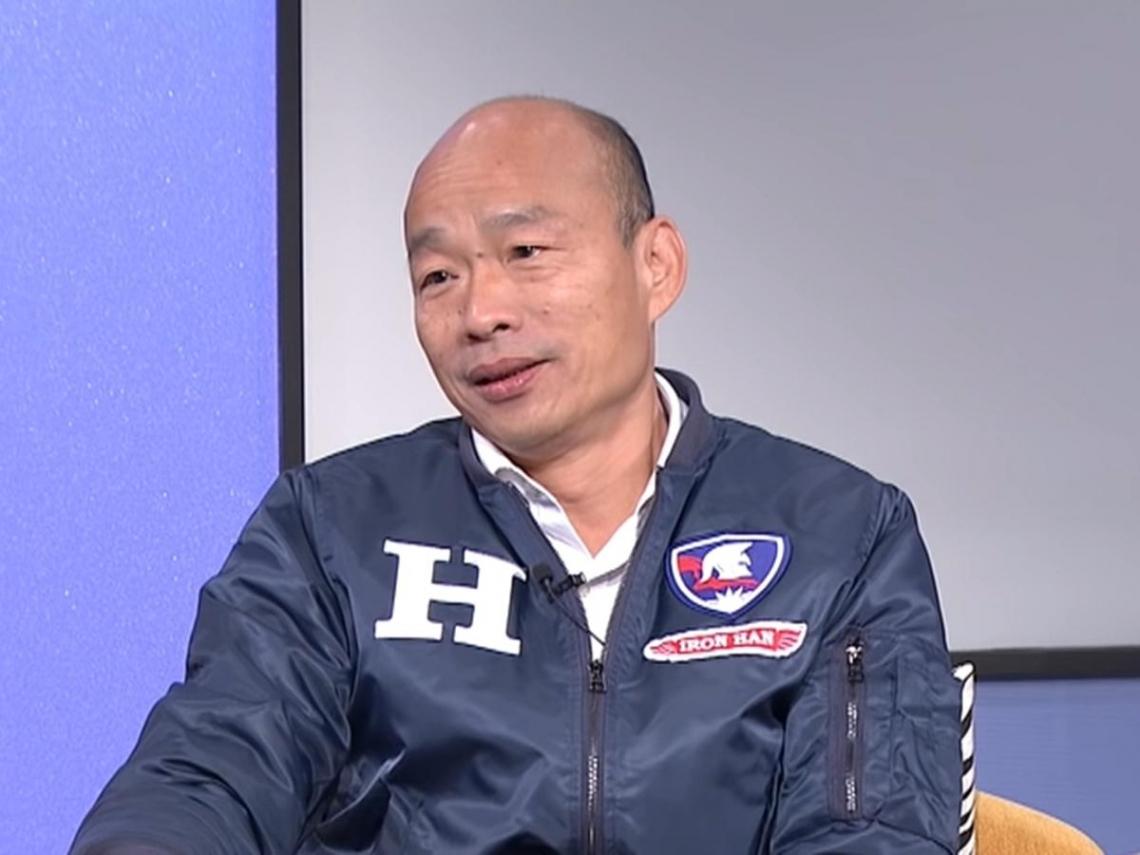 駁「落跑市長」指控 韓國瑜:沒有任何覺得對不起高雄市民