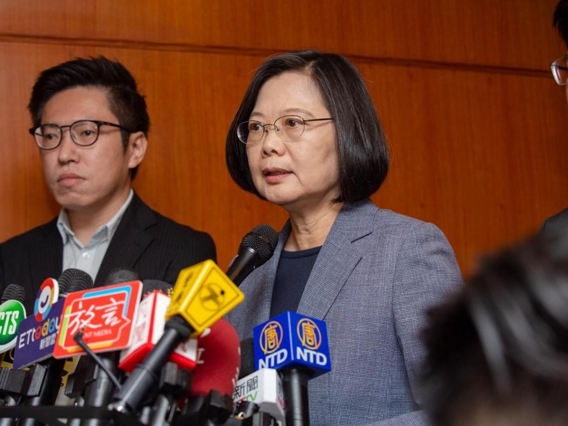 被吳敦義形容為「衰尾查某」 蔡英文:羞辱台灣的民主格調和人民智慧
