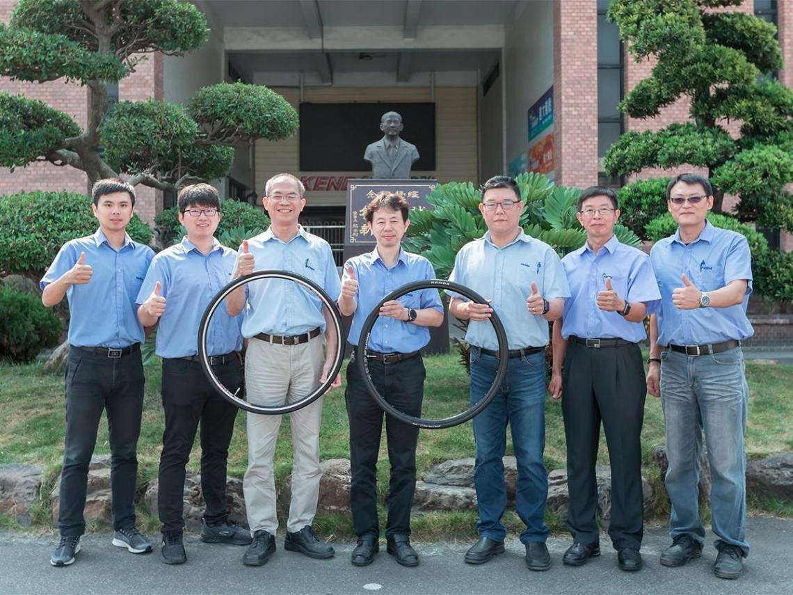 建大成功開發管胎 開啟自行車胎配方新領域
