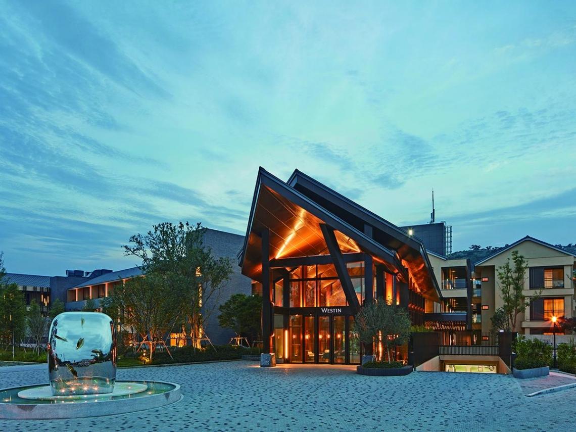城市奢華與溫泉秘境的雙重享受 宜蘭力麗威斯汀度假酒店