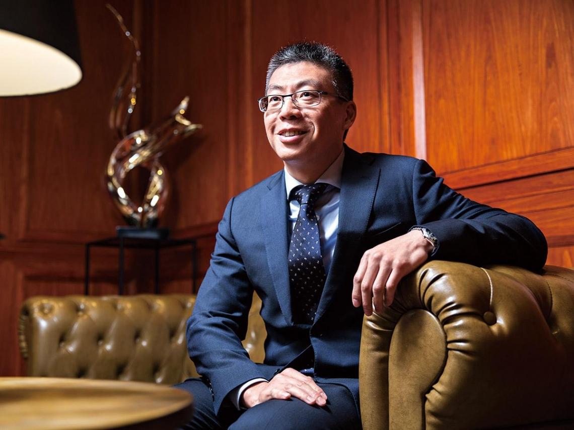 喊水會結凍的狠角色 寶佳機構副董事長 林家宏
