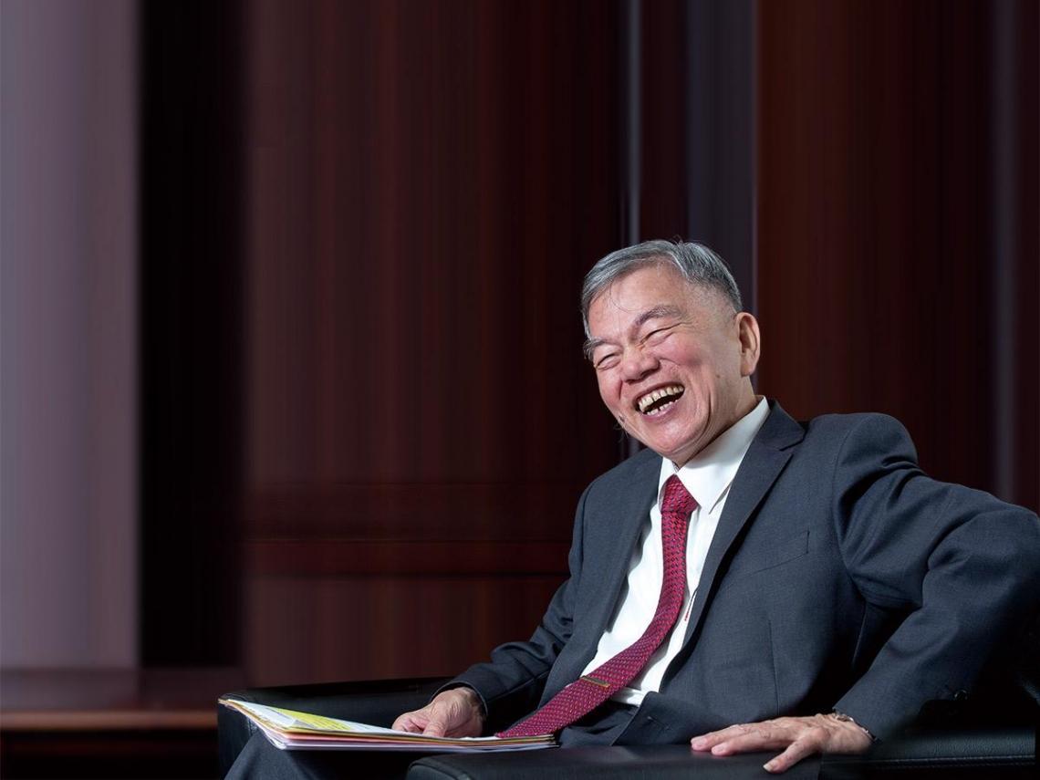 在貿易戰巨浪中借勢揚帆 經濟部長 沈榮津