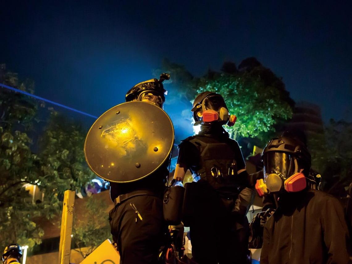 0.1%勝算的抗爭 反送中運動者 香港憤怒青年