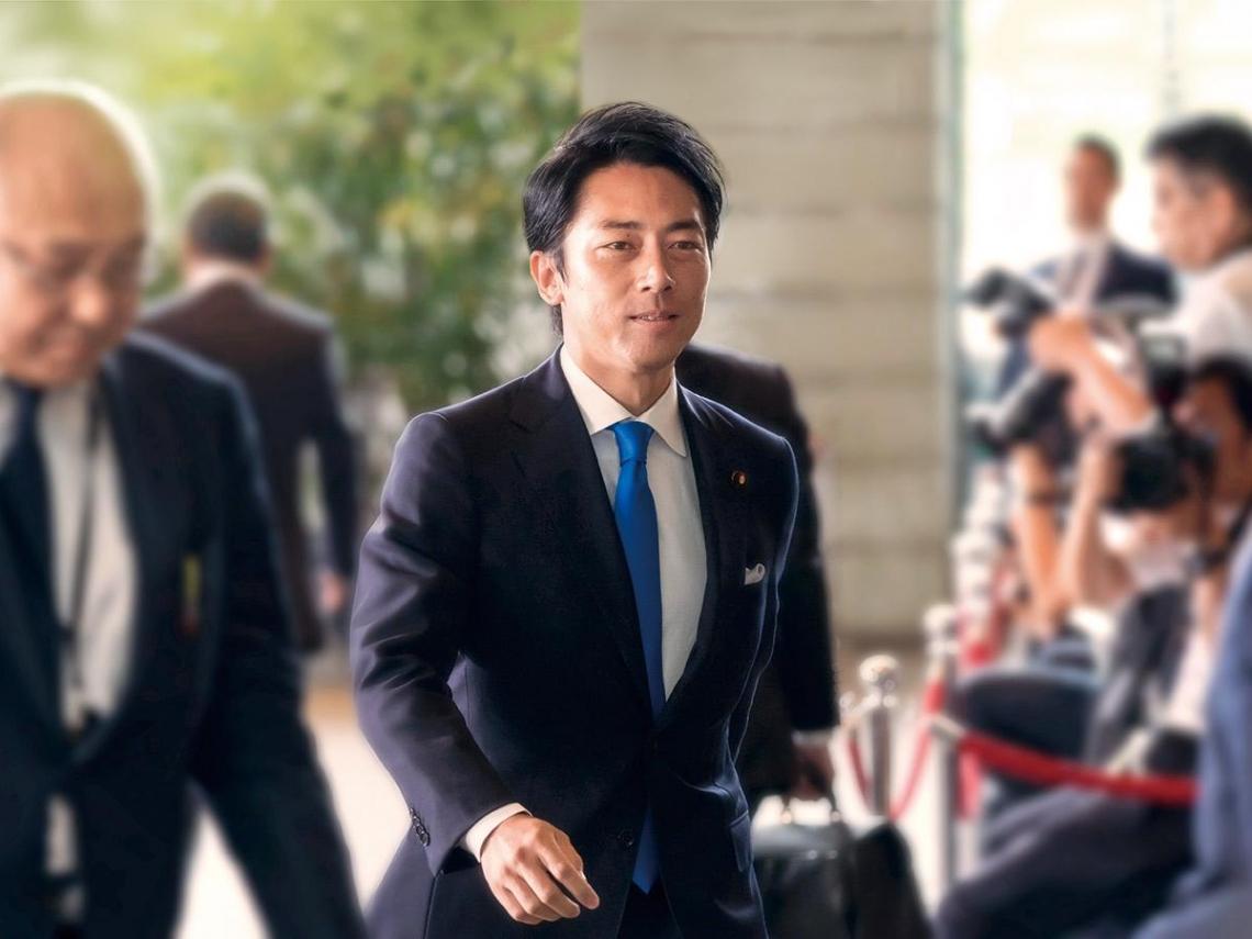 入閣新星首相之路  日本環境大臣  小泉進次郎
