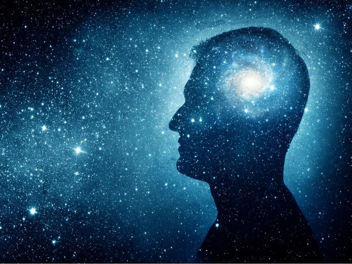 生命只不過是一堆宇宙材料的記憶堆積罷了!