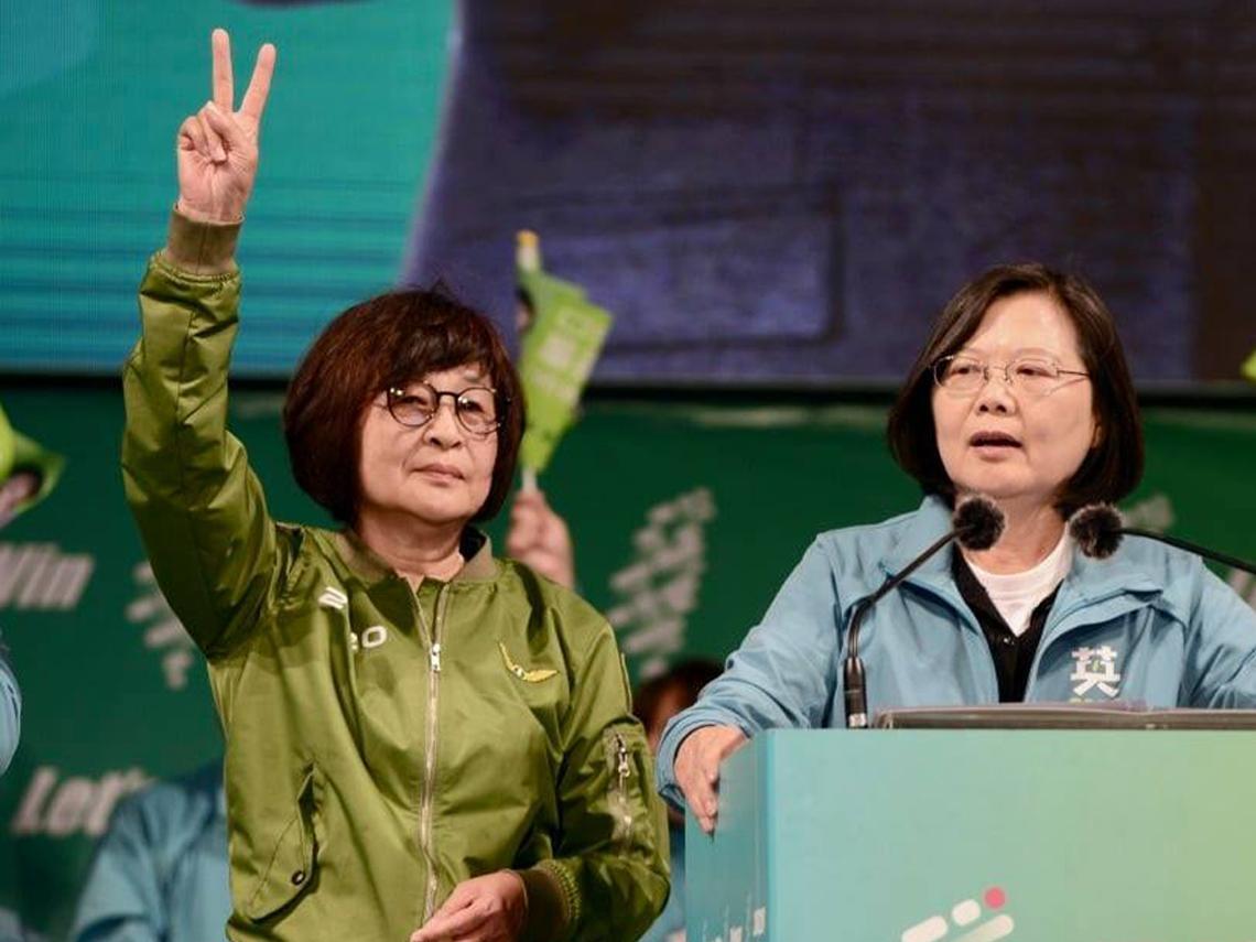 雲林立委第1選區 民進黨蘇治芬自行宣布當選:要為台灣民主政治盡一份力量