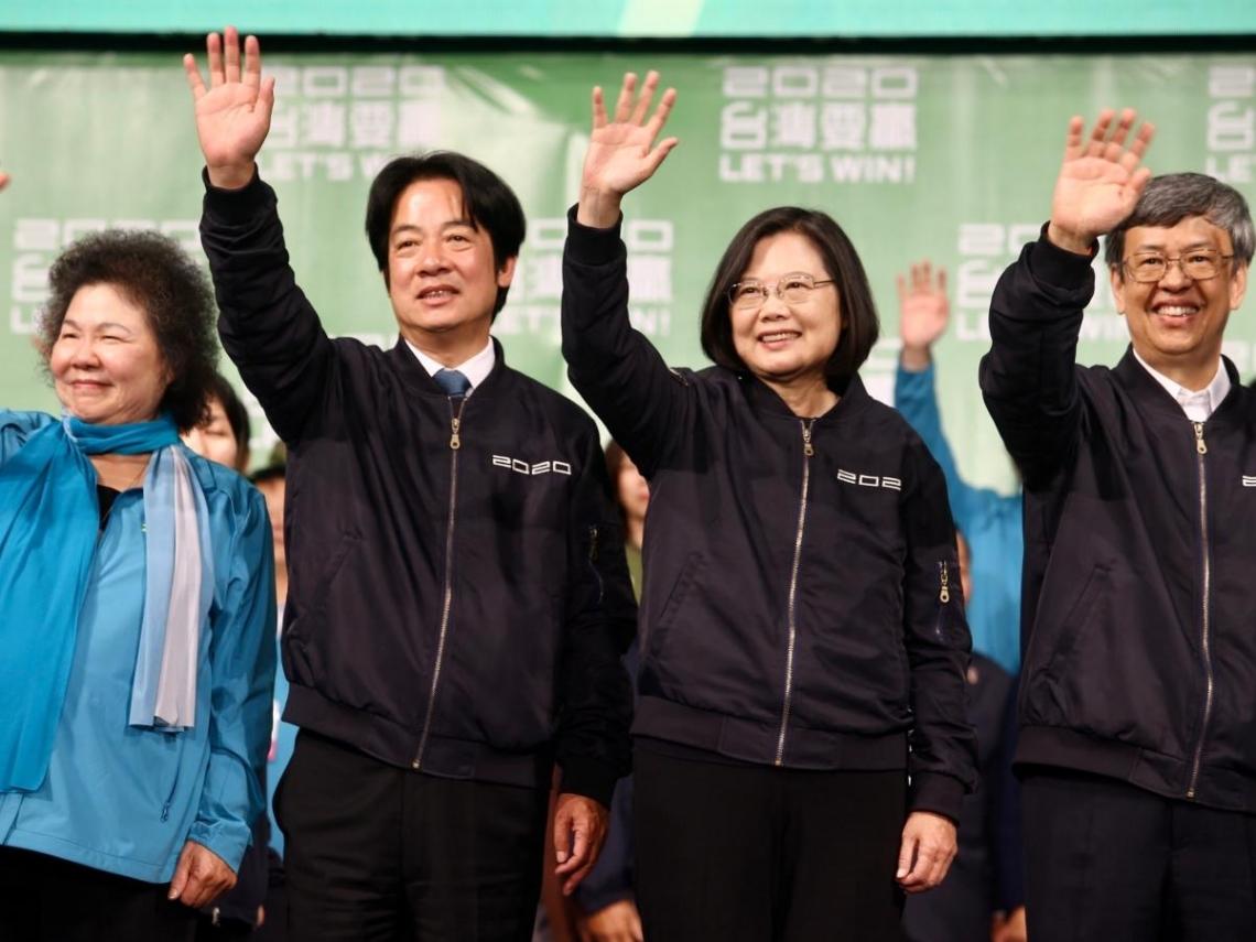 「所有台灣人都是家人!」蔡英文:選舉已結束該團結 大家應放下對立、擁抱家人