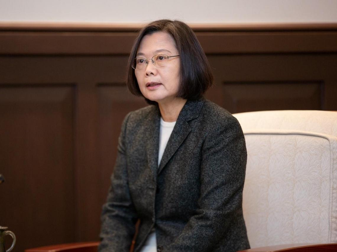 「任何時候都無法排除戰爭的可能」 蔡英文:中國侵略台灣將付出很大代價