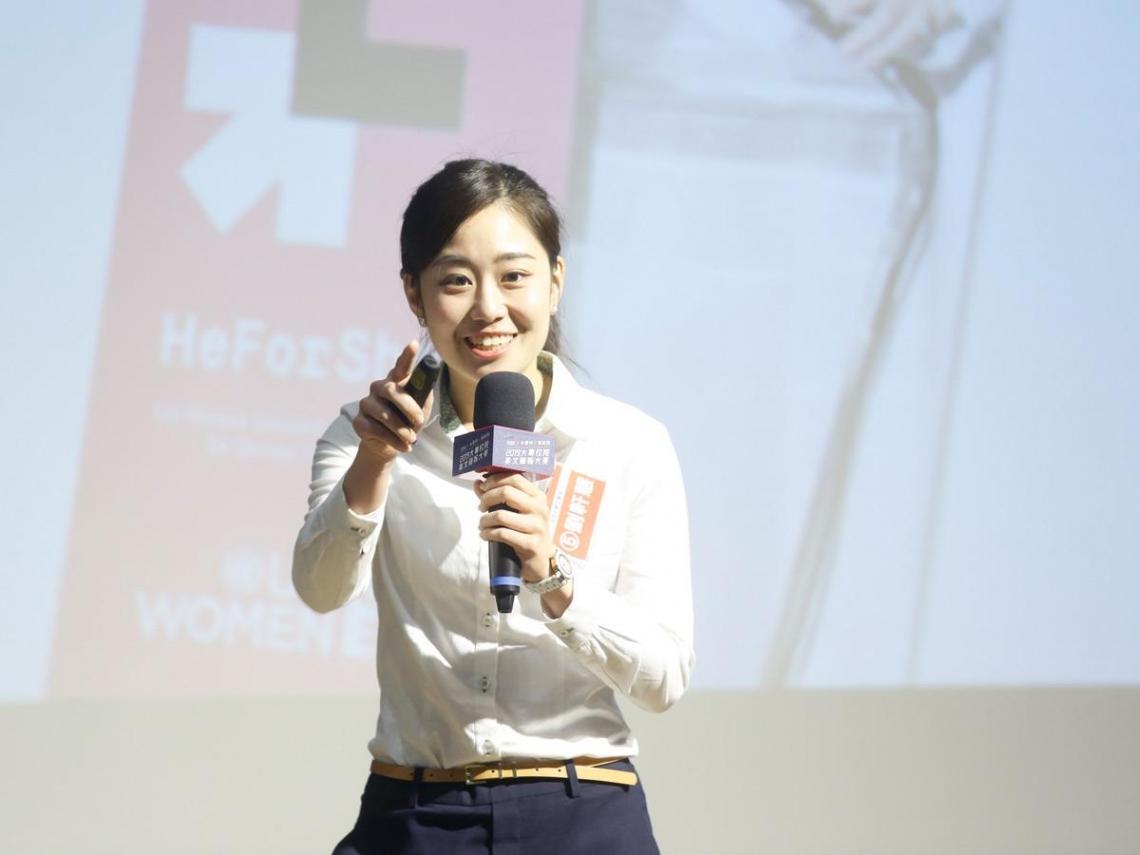 英德語雙聲道!成大女孩主持英語節目、介紹台南,獲選外交部青年大使