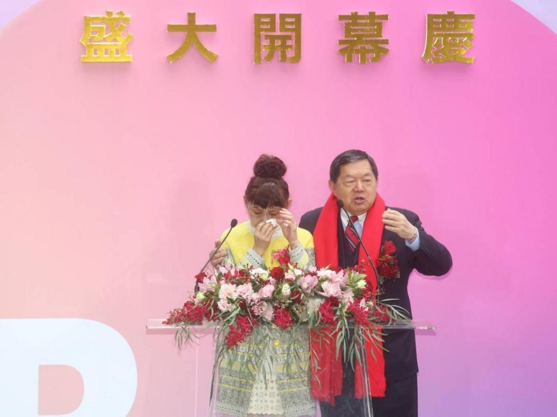 遠百信義A13今開幕 總經理徐雪芳哽咽:等了15年