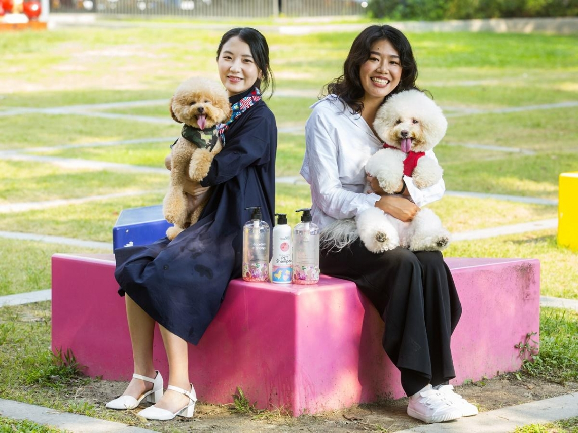毛小孩商機旺!她23歲接手家族企業,改賣「專櫃級寵物保養品」年創500萬營收