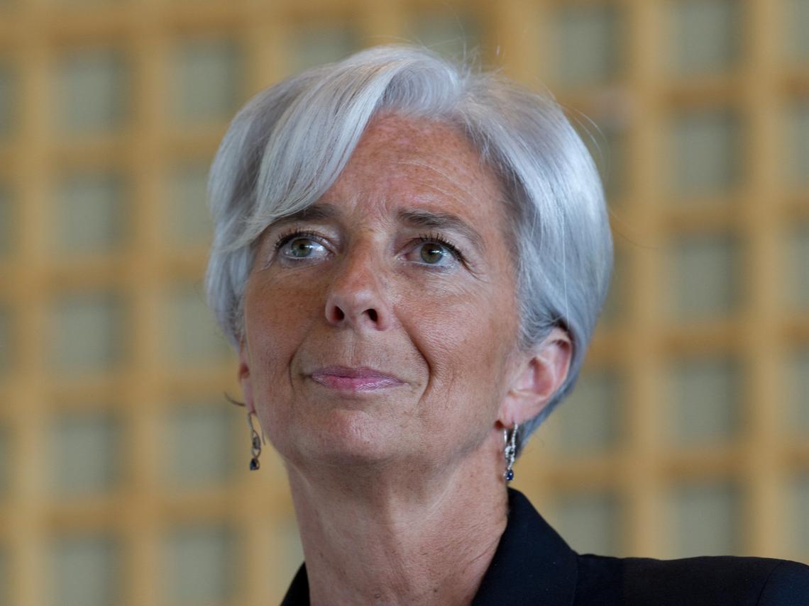手握歐元區印鈔機啟動鈕 她從水上芭蕾悟出「咬緊牙關、面帶笑容」的從政哲學