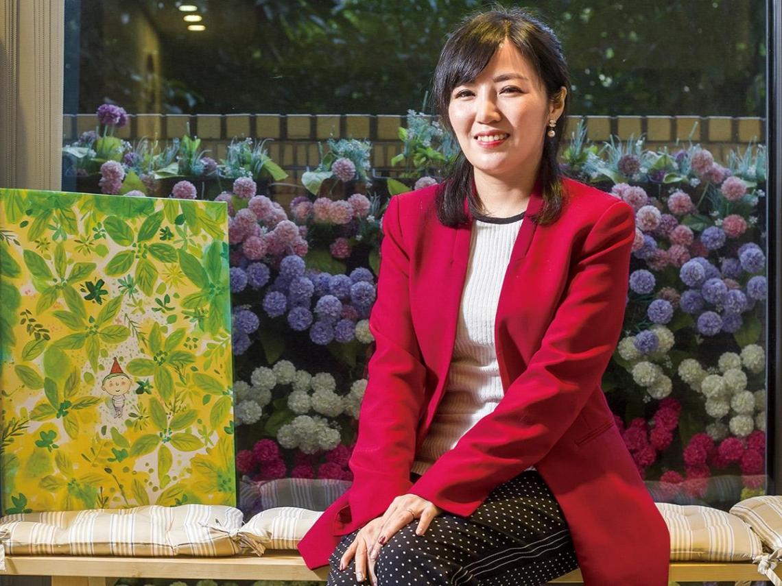 國際人才幫手鄭宇庭  推女性創業課  讓台灣女力輸出海外
