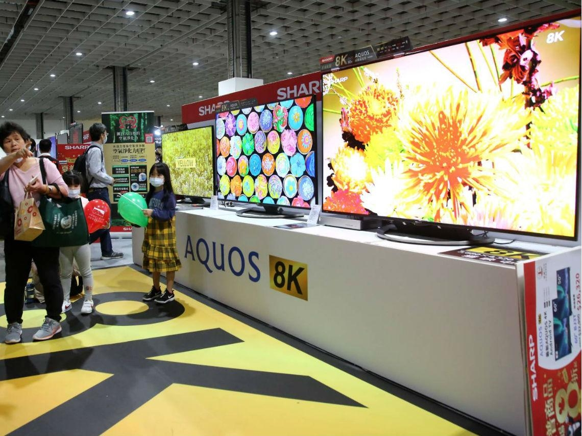 克服內容、傳輸技術、尺吋3大挑戰…戴正吳:夏普8K電視今年挑戰20萬台