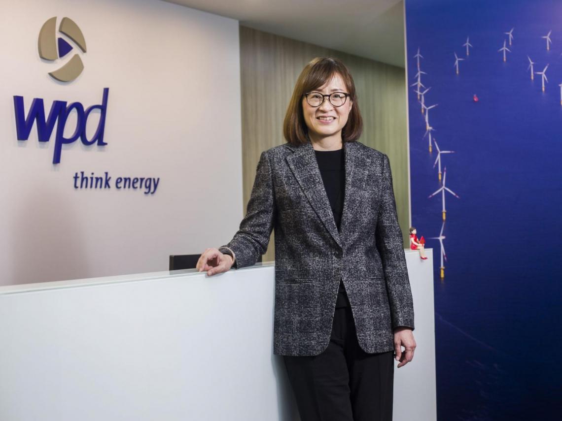「為何女性可以做能源?」 她一手建立亞洲最大離岸風電場 王雲怡:風電要翻轉台灣能源 德國做得到、台灣也可以