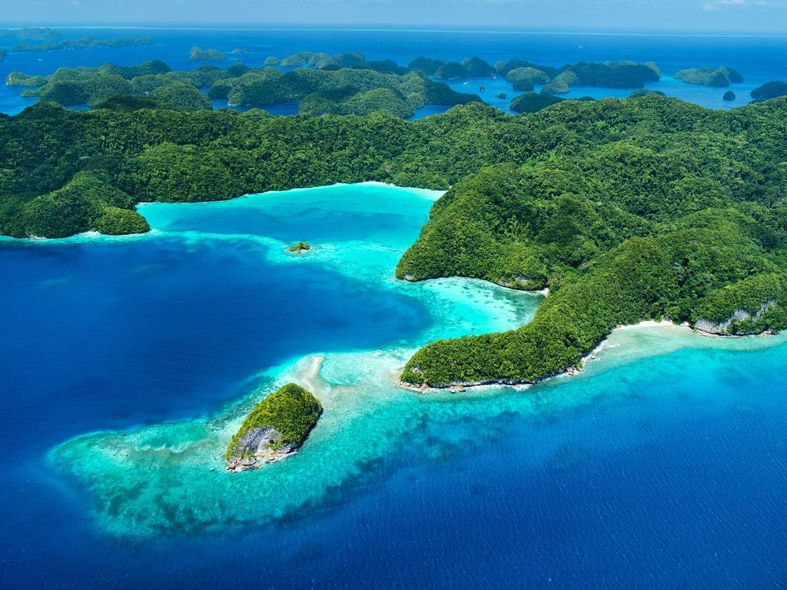 帛琉:台灣的太平洋要塞