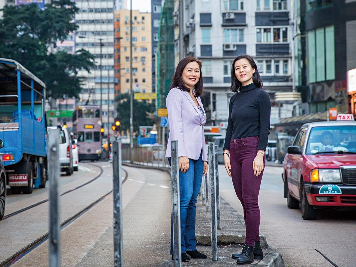 她們的征途  重量級母女檔為香港發聲