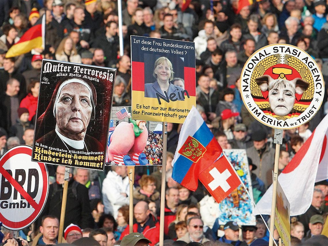 新納粹火苗蔓延  極端主義成為德國大患