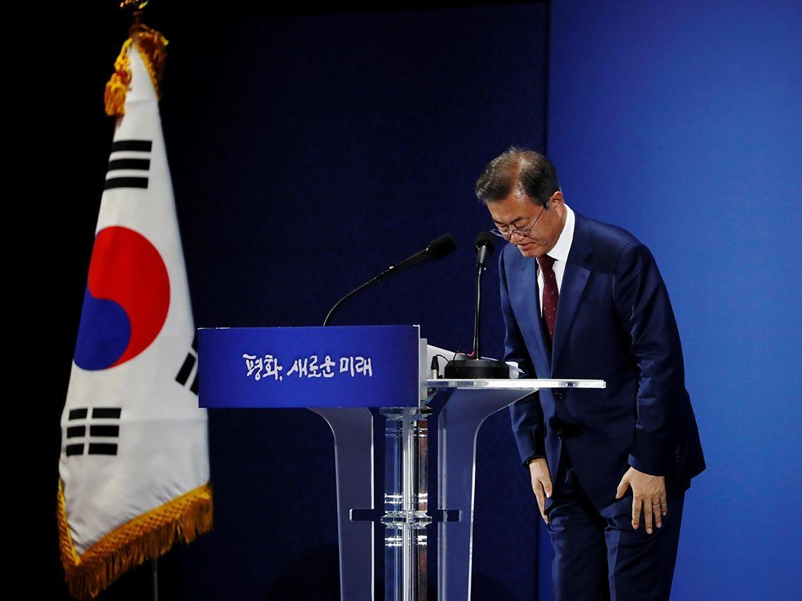 疫情失控!百萬人連署彈劾 南韓文在寅4月總統大選能否逆轉頹勢?