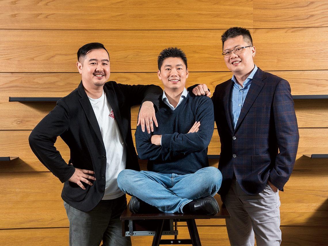 「三個傻瓜」捨跨國金飯碗  回台扶持新創