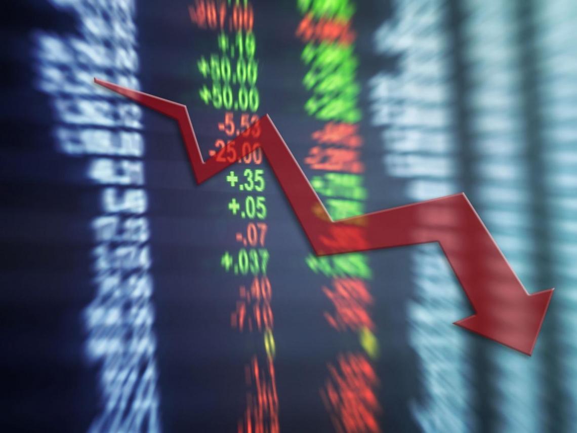 台積電ADR挫逾8%!「2表1圖」解讀股市慘況 美股連8交易日「4%以上鋸齒震盪」