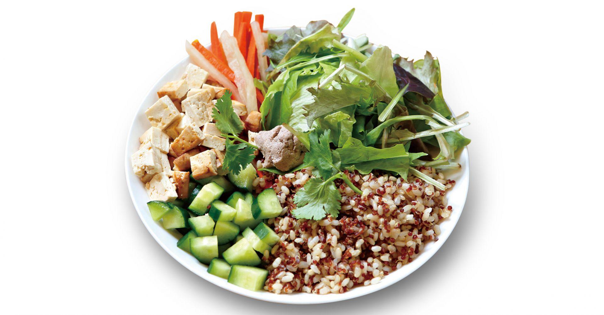 越式豆腐飯沙拉
