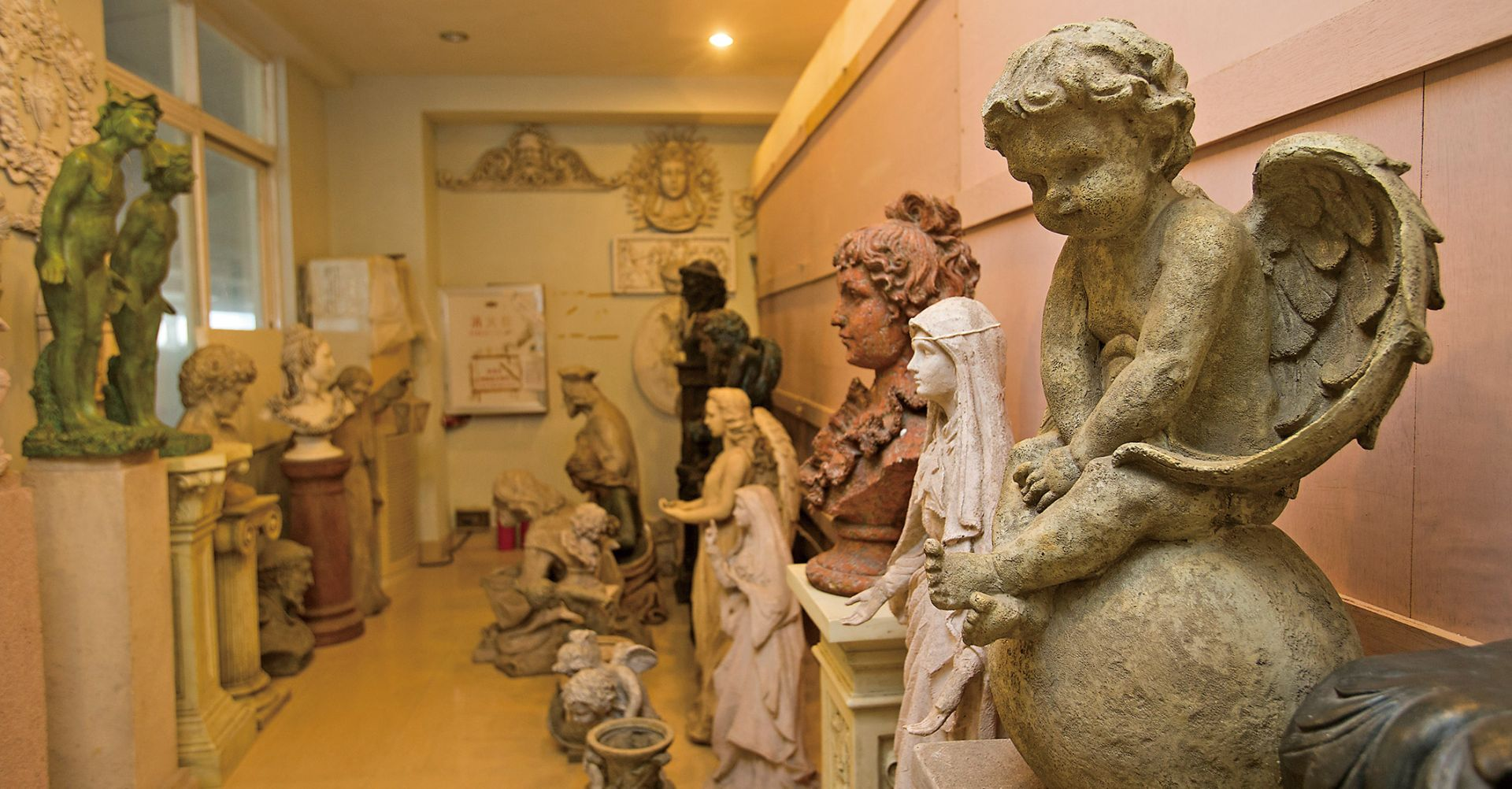 景觀雕塑品