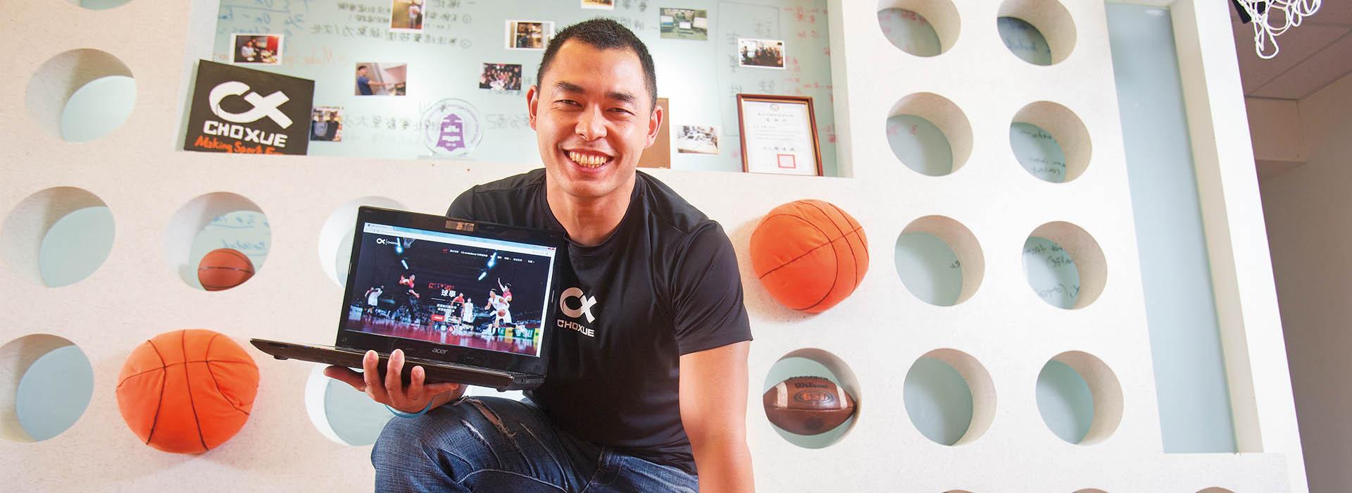 29歲哈佛小子 用熱情翻轉台灣體育