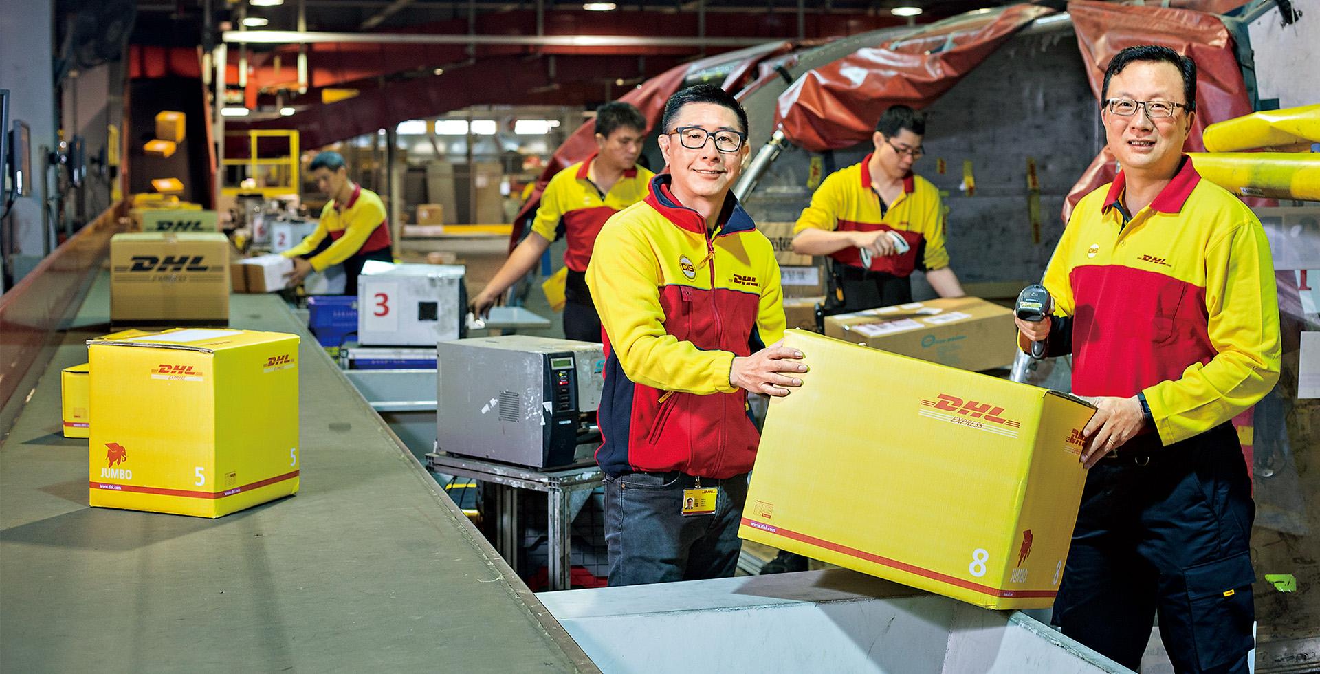 總座幫員工搬貨  DHL的一堂震撼課