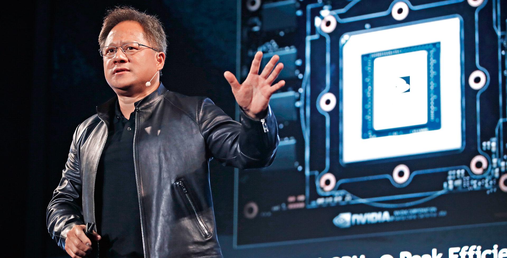 黃仁勳:人工智慧終極目標—機器人