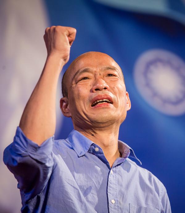 快問快答》韓國瑜:我一上任就要對經濟、空汙出重拳