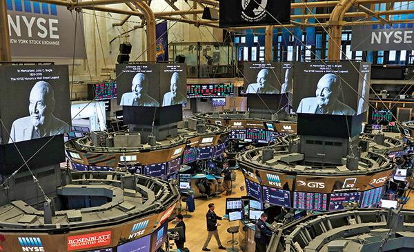紐約證券交易所紀念柏格