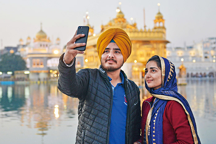 印度智慧型手機普及化