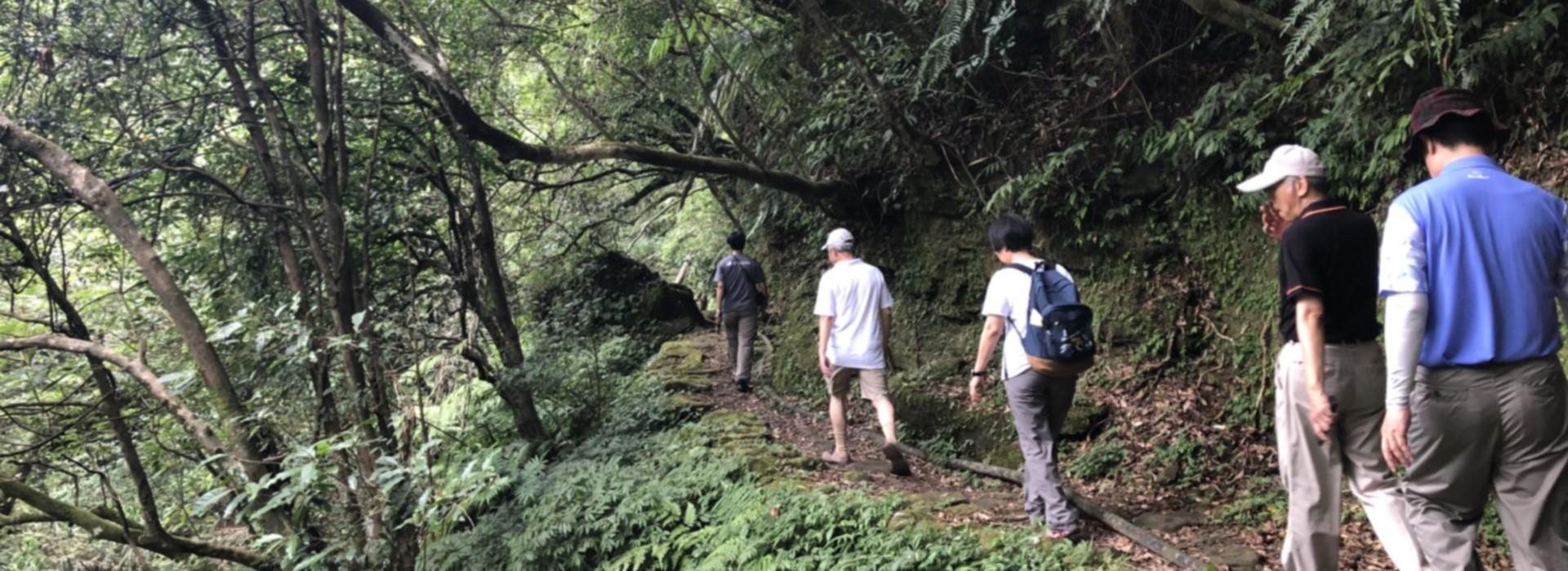 漫步淡蘭古道 賀陳旦讚:具文化、生態及地景多元是健康休閒的新選擇