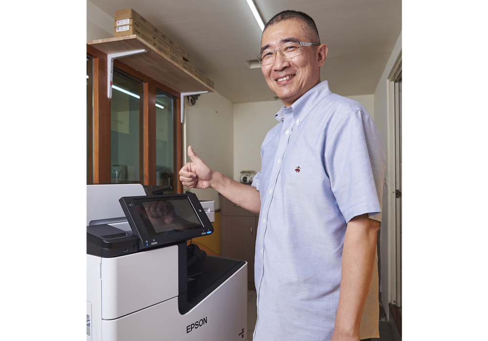 Epson省彩印極速微噴影印機超乎期待 徐立補習班實現健康、高效、低耗的學習環境