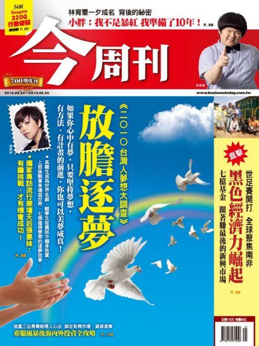 2010台灣人夢想大調查/放膽逐夢