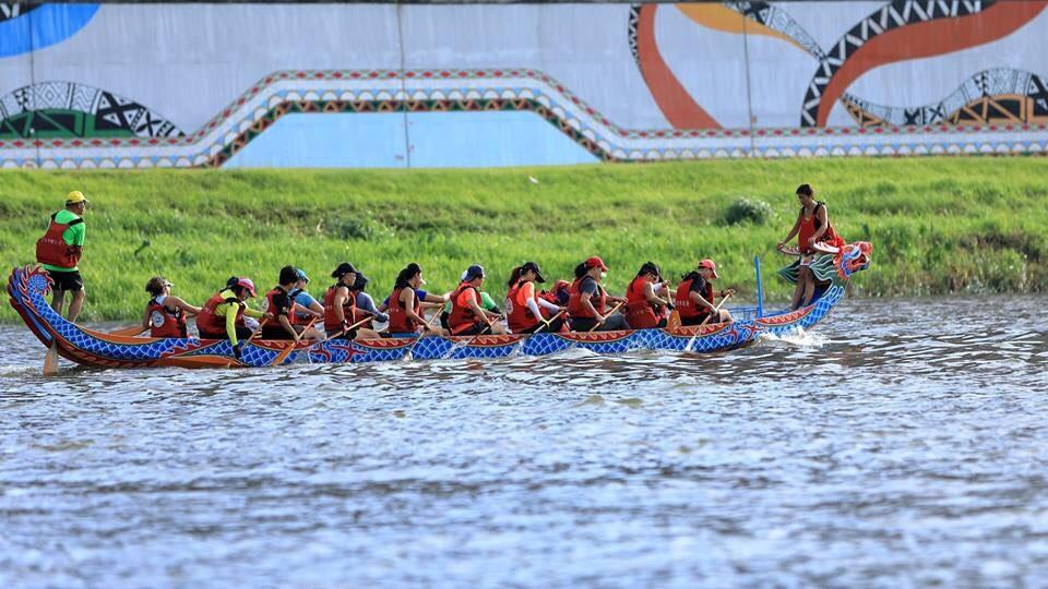 2018台北國際龍舟賽登場 6千好手水上較勁