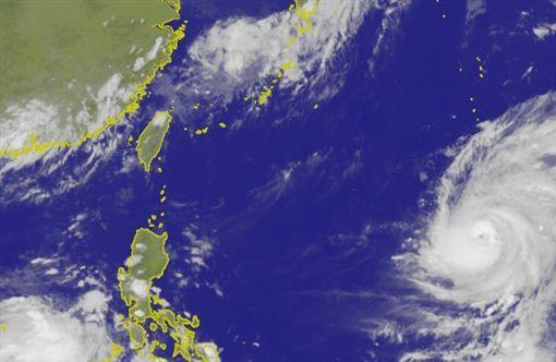 強颱瑪莉亞變身恐怖西北颱  1圖秒懂威脅台灣時間