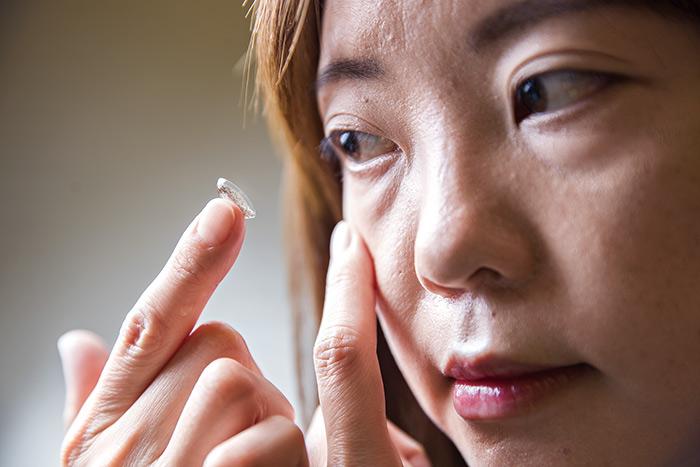 矽水膠隱形眼鏡