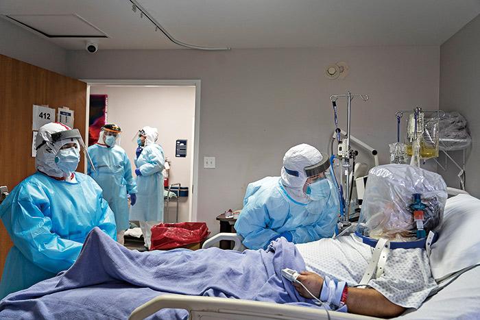 美國新冠肺炎疫情