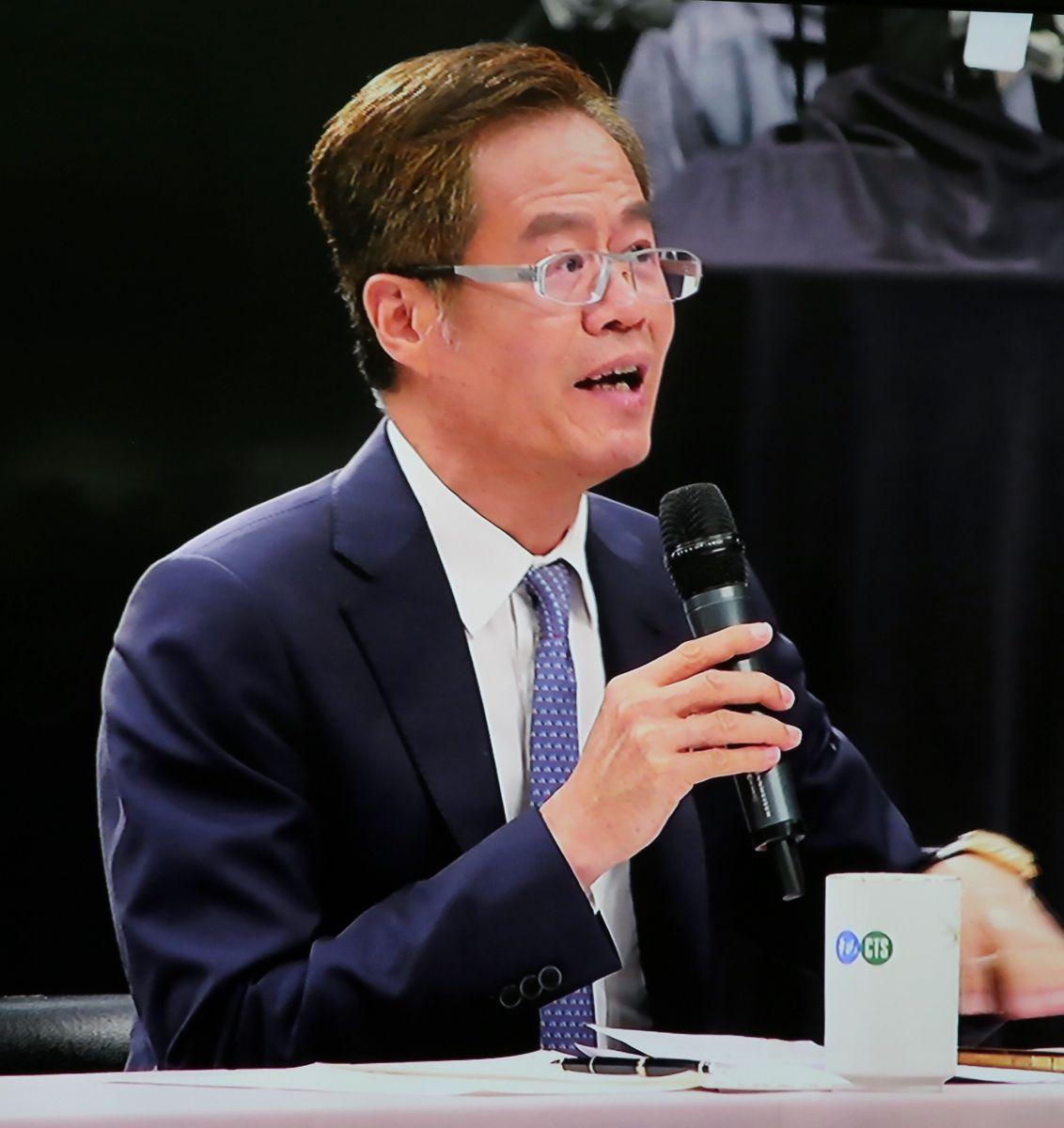 《今周刊》社長梁永煌針對台灣經濟成長如何讓人民「有感」提問