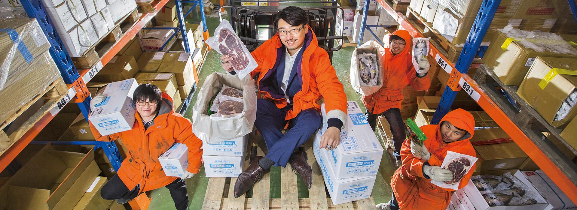 雙北3小時到貨 賣水果、 海鮮年收3.5億元